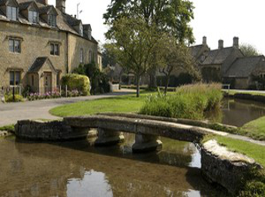 beautiful village of lower slaughter